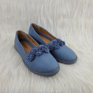 Comfortview Arielle Slip On Shoes Blue 9W